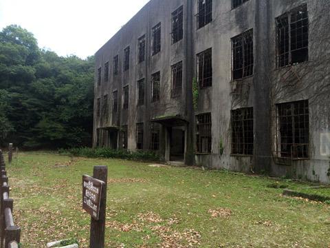 大久野島 毒ガス 発電所 廃墟