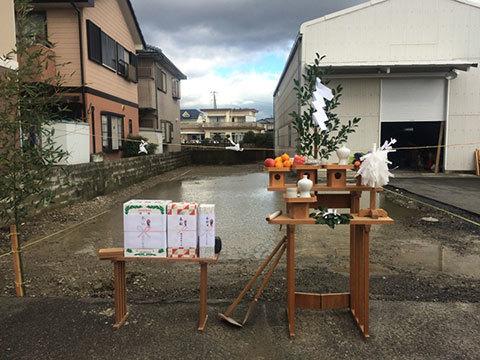 徳島のオフィス 地鎮祭