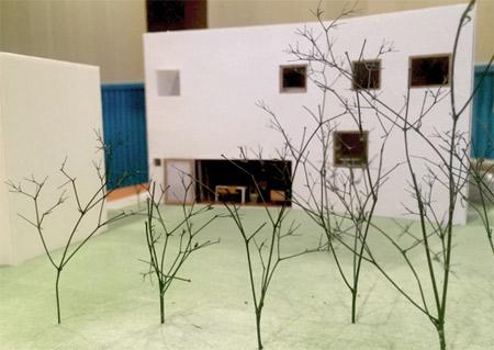 滋賀県 彦根 住宅設計 模型