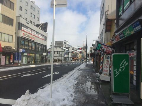 長浜 住宅 雪