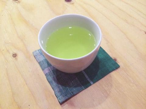 抹茶入玄米茶 堀井七茗園 白山陶器