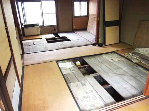 西ノ京 町家 改修 既存確認