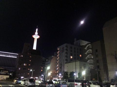 京都 月 スーパームーン